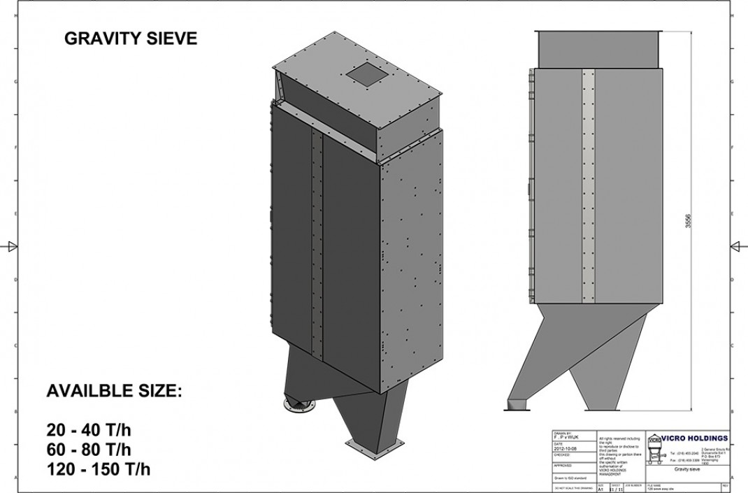 Vicro-Bulk-Gravity-Feed-Sieve-Drawing